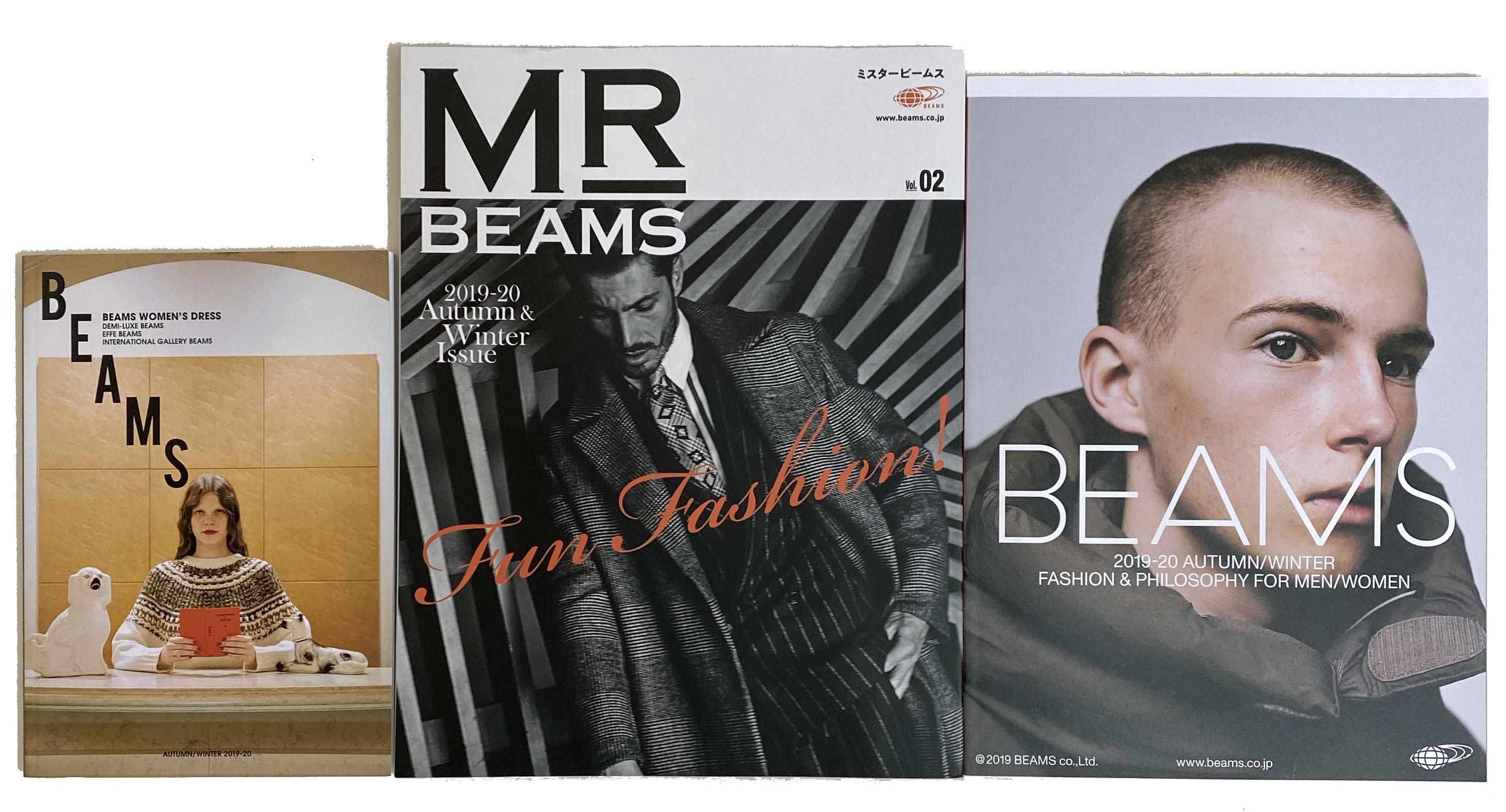 BEAMS 2019-20 AUTUM/WINTER FASHION & PHILOSOPHY FOE MEN/ WOMEN